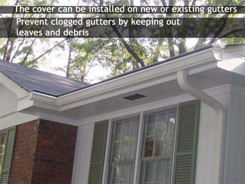 Gutter Covers in Lawrenceville, GA 30045